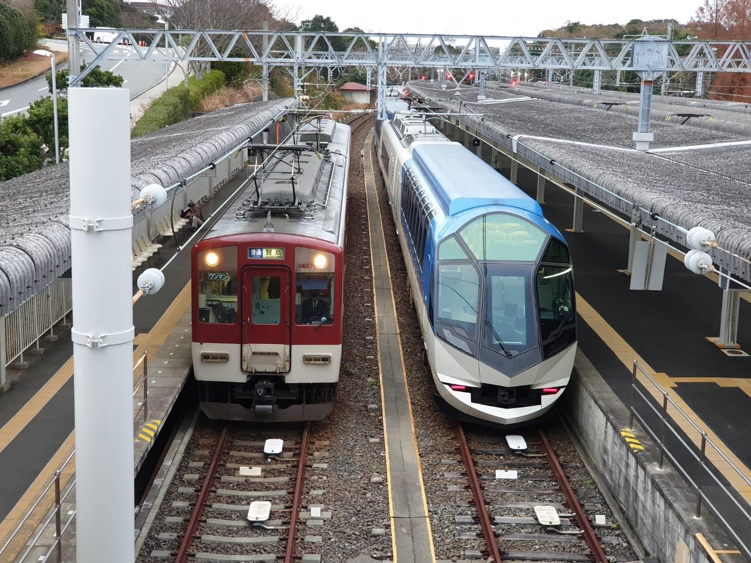 16.รถไฟด่วน Kintetsu 200213 0017
