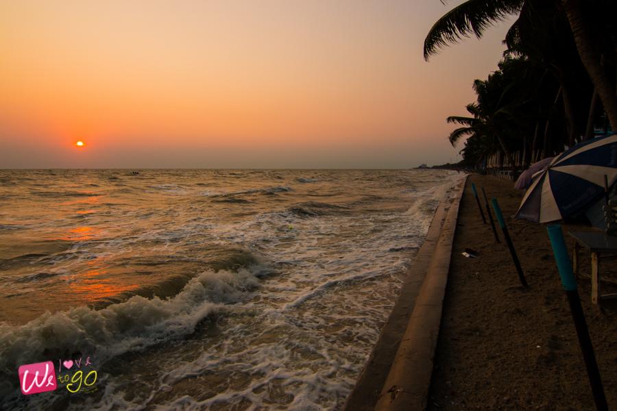 ชายหาดบางแสน ชิมซีฟู้ดริมทะเล 02
