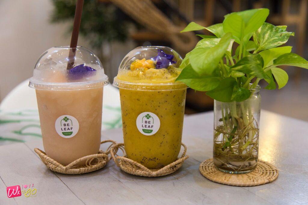 ร้าน Be Leaf Cafe1