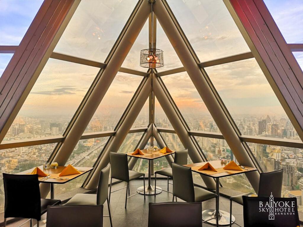 53Baiyoke Sky โรงแรมใบหยก Bangkok Balcony Indoor ชั้น 81